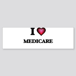 I Love Medicare Bumper Sticker