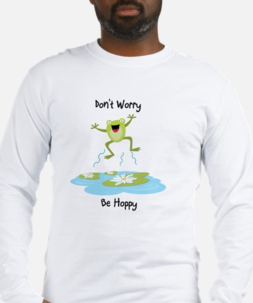 Unique Happy frog Long Sleeve T-Shirt
