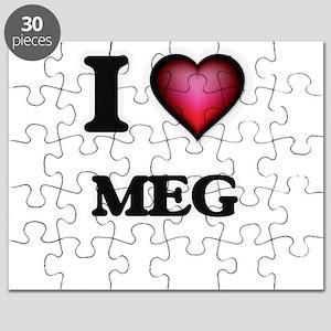 I Love Meg Puzzle
