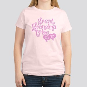 Great Grandma To Be 2017 T-Shirt