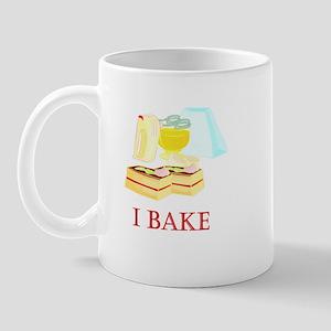 I Bake Cakes Mug