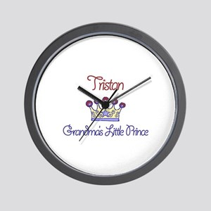 Tristan - Grandma's Little Pr Wall Clock