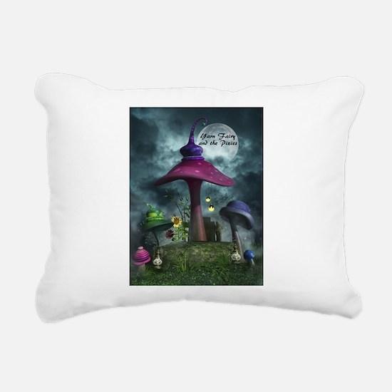 Mushroom Rectangular Canvas Pillow