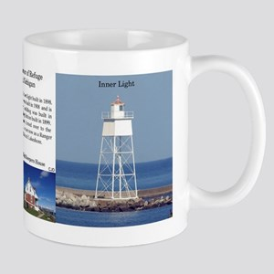 Grand Marais Harbor Of Refuge Lights Mugs