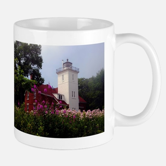 40 Mile Point Ligthouse History Mugs