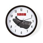 Subsim U-boat Wall Clock