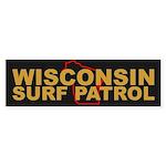 Wisconsin Surf Patrol Bumper Sticker