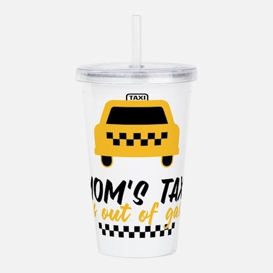 Mom's Taxi Acrylic Double-wall Tumbler