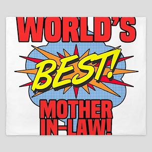 World's Best Mother-In-Law King Duvet