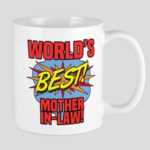 World's Best Mother-In-Law Mugs