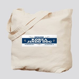 KOREA JINDO DOG Tote Bag