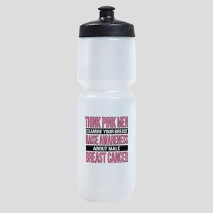 Think Pink Men Sports Bottle