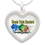 STS Silver Heart Necklace