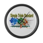STS Large Wall Clock