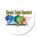 STS Round Car Magnet