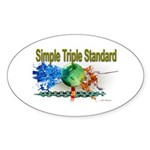 STS Sticker (Oval 50 pk)