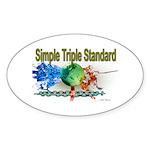 STS Sticker (Oval 50 pk)