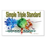 STS Sticker (Rectangle 10 pk)