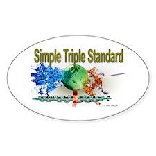 STS Sticker (Oval)