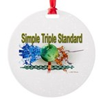 STS Round Ornament
