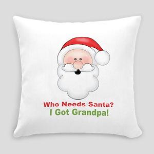 Santa I Got Grandpa Everyday Pillow