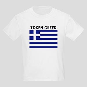 TOKEN GREEK Kids Light T-Shirt