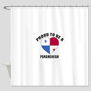 Panama Patriotic Designs Shower Curtain