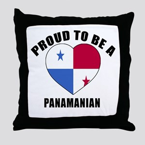 Panama Patriotic Designs Throw Pillow