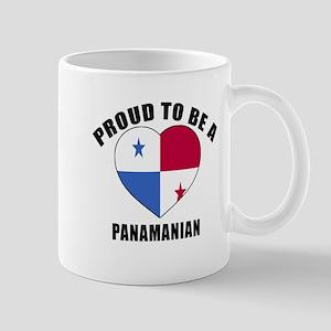 Panama Patriotic Designs 11 oz Ceramic Mug
