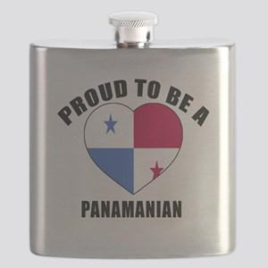 Panama Patriotic Designs Flask
