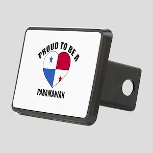 Panama Patriotic Designs Rectangular Hitch Cover
