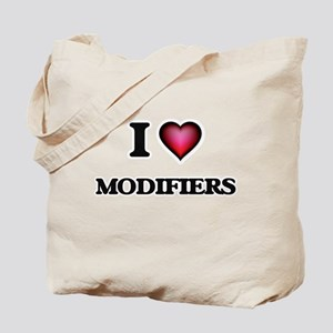 I Love Modifiers Tote Bag