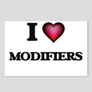 I Love Modifiers Postcards (Package of 8)
