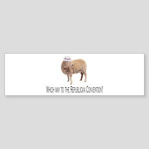 Republican Sheep Bumper Sticker