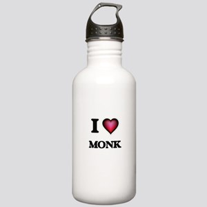 I Love Monk Stainless Water Bottle 1.0L