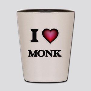 I Love Monk Shot Glass
