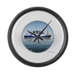 Krill America Large Wall Clock
