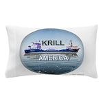 Krill America Pillow Case