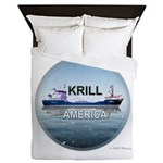 Krill America Queen Duvet