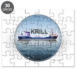 Krill America Puzzle