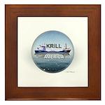 Krill America Framed Tile