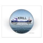 Krill America Small Poster