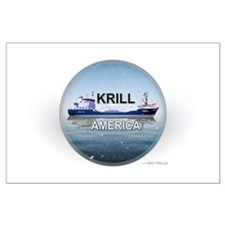 Krill America Large Poster