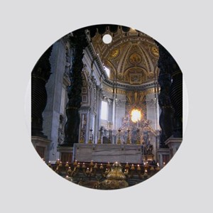 St. Peter's Basilica Ornament (Round)