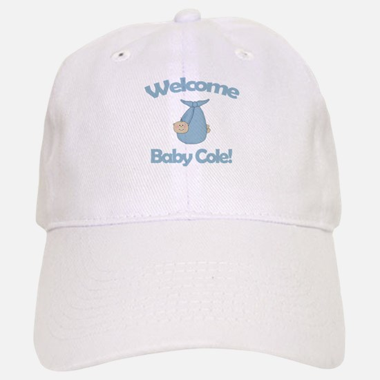 Welcome Baby Cole Cap