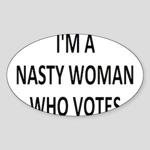 ImaNastyWomanWhoVotes Sticker