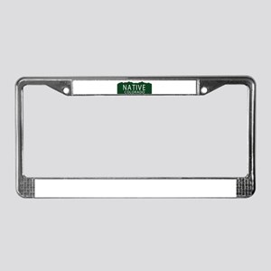 Native Colorado License Plate Frame