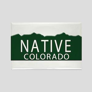 Native Colorado Rectangle Magnet