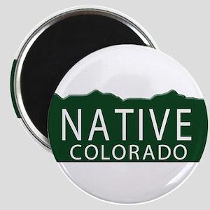 Native Colorado Magnet