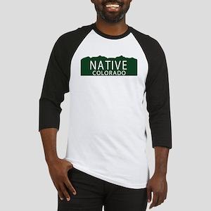 Native Colorado Baseball Jersey